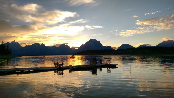 Sunset Photo - Landscape - Lake Jackson - Grand Teton National Park - Grand Tetons - Landscape
