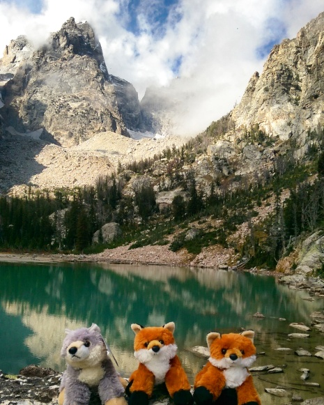 Landscape - The Love of Nieces and Nephews - Stuffed Animal Travel - Grand Teton Mountain - Grand Teton National Park - Delta Lake - Wyoming - Hike - Discover - Travel