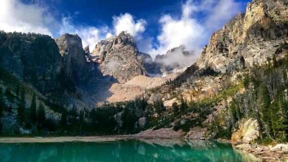 Landscape - Grand Teton Mountain - Grand Teton National Park - Delta Lake - Wyoming - Hike - Discover - Travel - Solo Travel - Beautiful